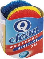 Drátěnka plastová Q Clean