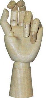 Dřevěná kloubová ruka