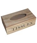 Dřevěný box na kapesníčky