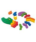 Dřevěná stavebnice Playtive Junior