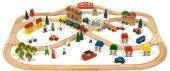 Dřevěná železnice Carousel