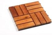Dřevěné dlaždice Florabest