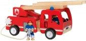 Dřevěné hasičské auto Playtive Junior