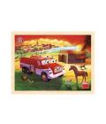 Dřevěné puzzle Dino