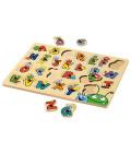 Dřevěné puzzle Playtive Junior