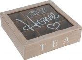 Dřevěný box na čaj