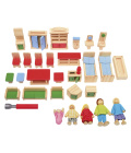 Dřevěný nábytek pro panenky Playtive Junior