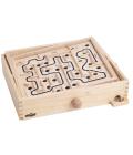 Dřevěný naklápěcí labyrint Woody