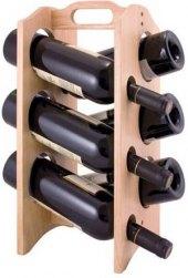 Dřevěný stojan na víno Brillante