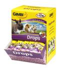 Pamlsky pro hlodavce Drops Gimbi