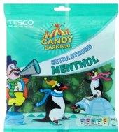 Dropsy mentolové Candy carnival Tesco
