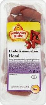 Minisalámy drůbeží Horal Vodňanské kuře
