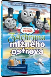 DVD Mašinka Tomáš Záchrana mlžného ostrova