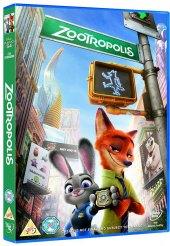 DVD Zootropolis Město zvířat