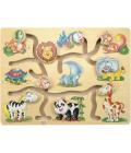 Edukativní dřevěné hračky Woody