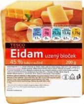 Sýr Eidam uzený 45%Tesco