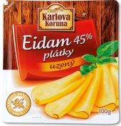 Sýr Eidam uzený 45% Karlova Koruna