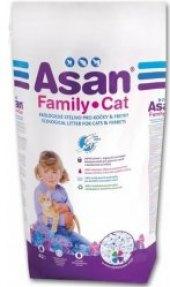 Stelivo pro kočky ekologické Family Asan