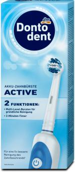 Elektrický kartáček na zuby Akku Active Dontodent