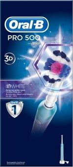 Elektrický zubní kartáček Oral-B Pro 500 3D White