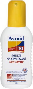 Emulze na opalování ve spreji OF 10 Astrid