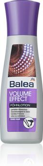 Emulze na vlasy ochrana před teplem Volume Effect Balea