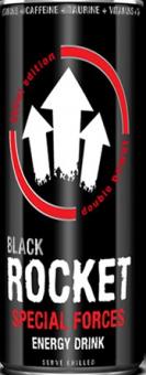 Energetický nápoj Black Rocket