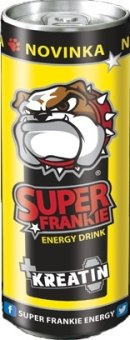 Energetický nápoj + kreatin Super Frankie