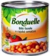 Fazole bílé v rajčatové omáčce Bonduelle