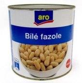 Fazole bílé sterilované Aro