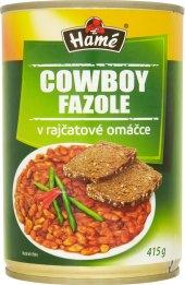 Fazole Cowboy Hamé - konzerva
