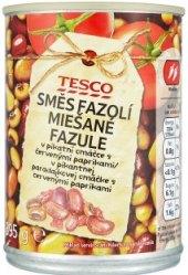 Fazole v konzervě Tesco