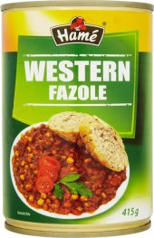 Fazole Western Hamé - konzerva