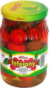 Feferony kulaté Alibona