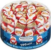 Čokoládové figurky vánoční Minis Riegelein