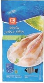 Filety z aljašské tresky K-Classic