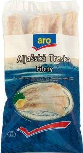 Aljašská treska filety mražená Aro