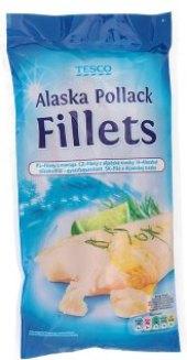 Aljašská treska filety mražená Tesco