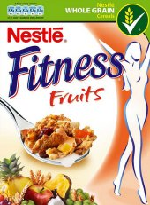 Cereálie Fruits Fitness Nestlé