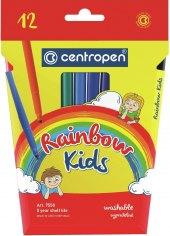 Vypratelné fixy Rainbow Kids Centropen