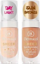 Fluid zkrášlující Face Illuminator Sheer Dermacol