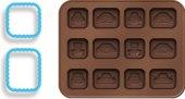 Formičky na čokoládu s vykrajovátky Delícia Kids Tescoma
