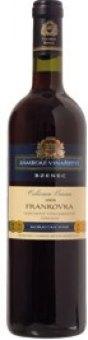 Víno Frankovka Cellarium Bisencii Zámecké vinařství Bzenec
