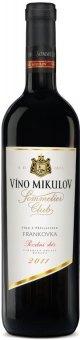Víno Frankovka Sommelier Club Víno Mikulov - pozdní sběr
