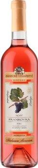 Víno Frankovka Rosé Herbarium Moravicum Zámecké vinařství Bzenec - pozdní sběr