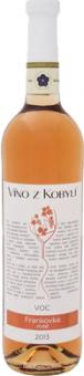Víno Frankovka Rosé Víno z Kobylí