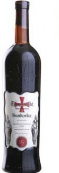 Víno Frankovka Templářské sklepy Čejkovice