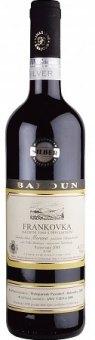 Víno Frankovka Vinařství Baloun