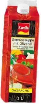 Polévka gazpacho Espaňa