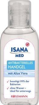 Antibakteriální gel na ruce Isana